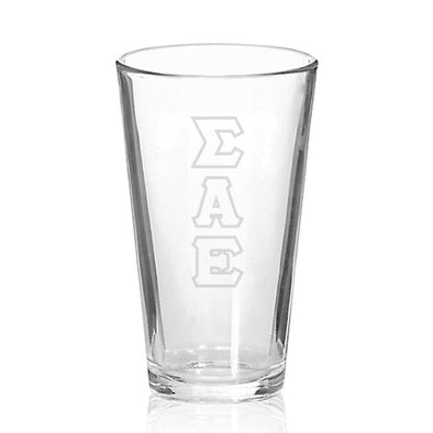 Sale! SAE Engraved Fellowship Glass
