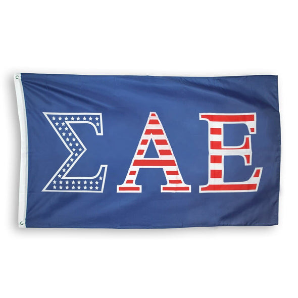 SAE Stars and Stripes Flag