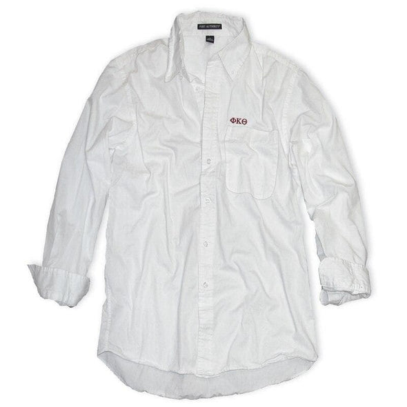 Clearance Priced! Phi Kap White Button Down Shirt