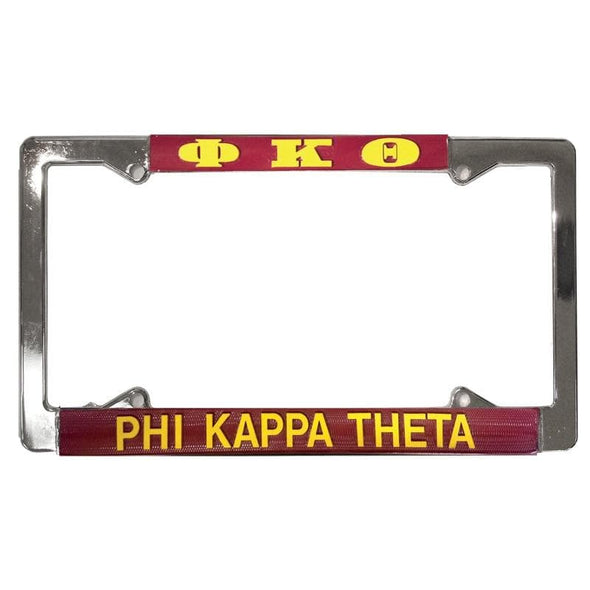 Clearance Priced! Phi Kap License Plate Frame