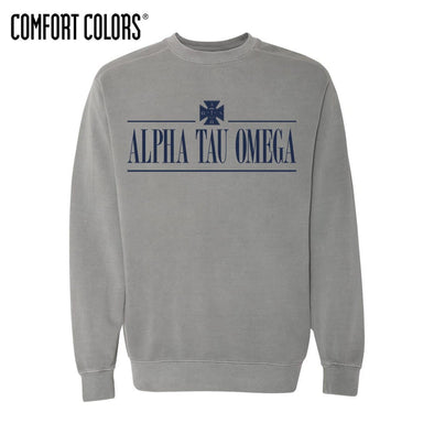 ATO Gray Comfort Colors Crewneck