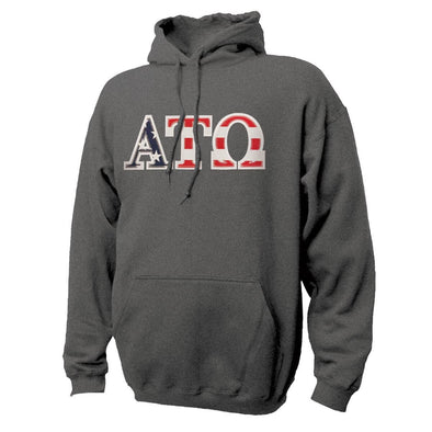 ATO Stars & Stripes Sewn On Letter Hoodie