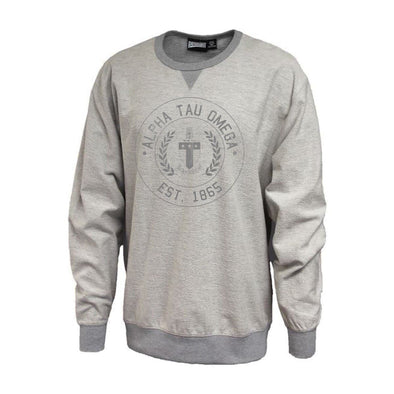 Alpha Tau Omega Inside Out Crewneck Sweatshirt