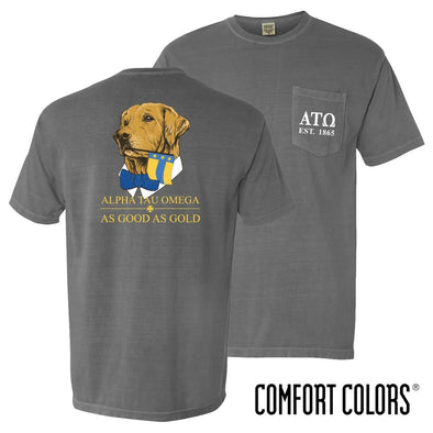 New! ATO Comfort Colors Retriever Flag Tee