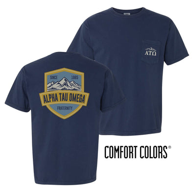 ATO Comfort Colors Mountain Pocket Tee