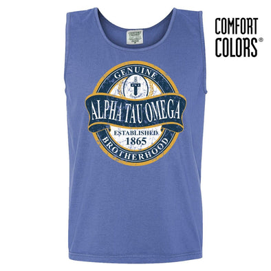 ATO Faded Blue Comfort Colors Tank