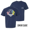 ATO Comfort Colors Short Sleeve Navy Patriot tee