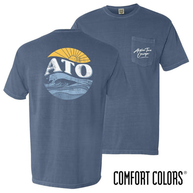 New! ATO Comfort Colors Tidal Tee