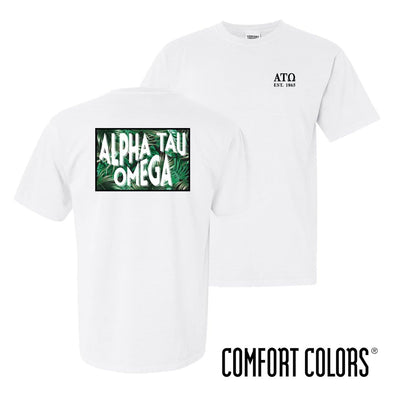 ATO Comfort Colors White Short Sleeve Jungle Tee