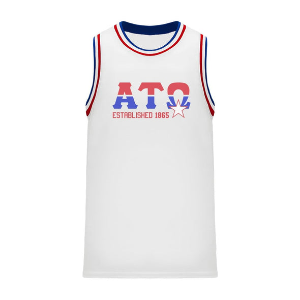 ATO Retro Block Basketball Jersey