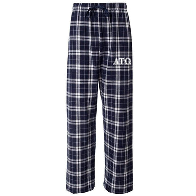 ATO Navy Plaid Flannel Pants