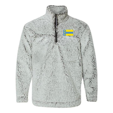 ATO Flag Sherpa 1/4 Zip Pullover