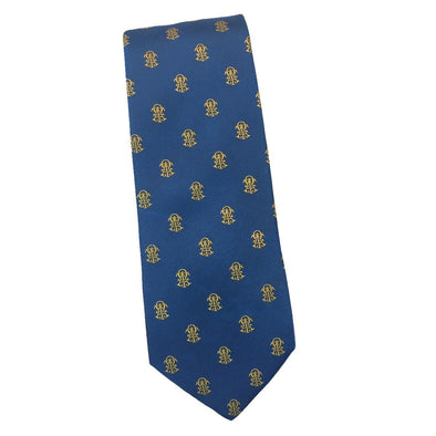 Sale! ATO Interlocked Greek Letter Silk Tie