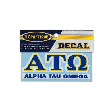 ATO Greek Letter Decal