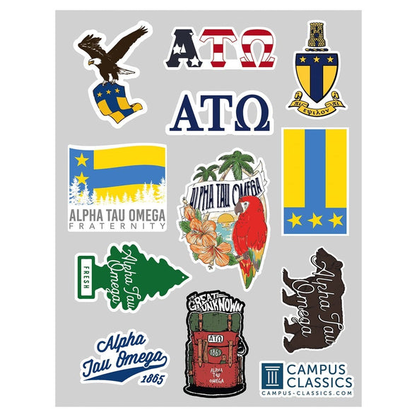 New! ATO Sticker Sheet