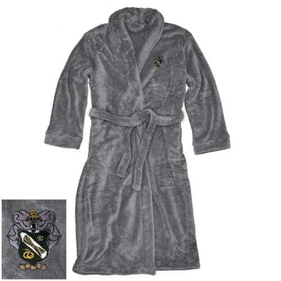 Sale! Sigma Nu Charcoal Ultra Soft Robe
