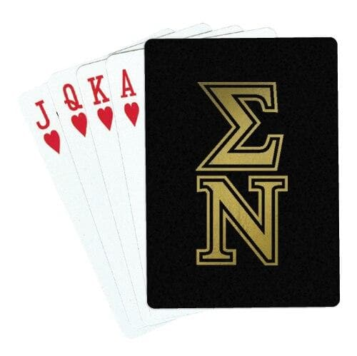 Sigma Nu Playing Cards
