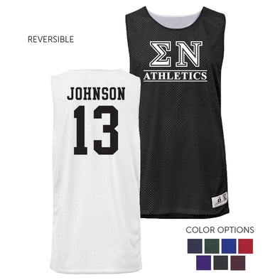Sigma Nu Personalized Intramural Athletics Reversible Mesh Tank