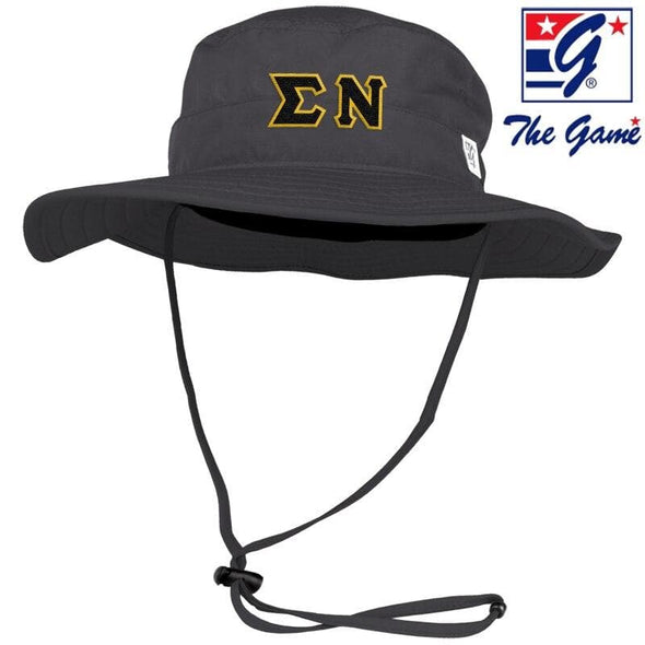Sigma Nu Charcoal Boonie Hat By The Game ®