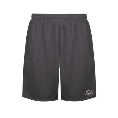 Sigma Nu Charcoal Performance Shorts