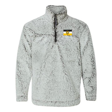 Sigma Nu Flag Sherpa 1/4 Zip Pullover