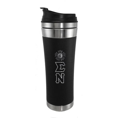 Sale! Sigma Nu Stainless Travel Mug