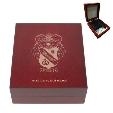 Sale! Sigma Nu Personalized Rosewood Box