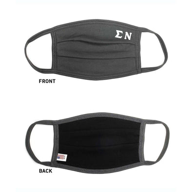 Sigma Nu Paneled Face Mask