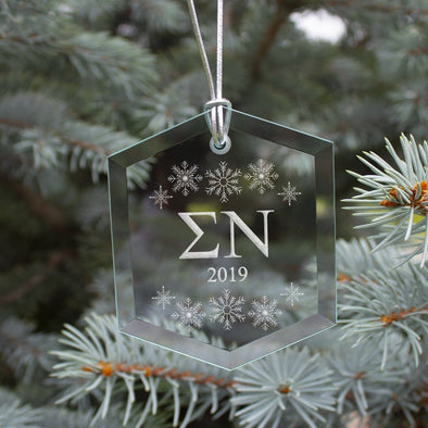 New! Sigma Nu 2019 Limited Edition Holiday Ornament