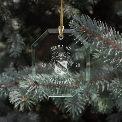 New! Sigma Nu 2020 Limited Edition Holiday Ornament