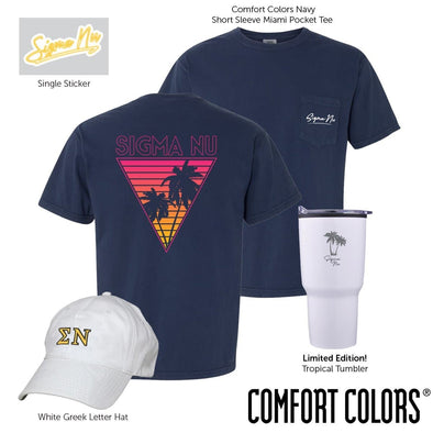 New! Sigma Nu Tropical Bundle