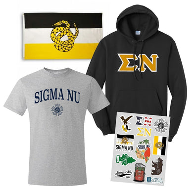 New! Sigma Nu Ultimate New Member Bundle