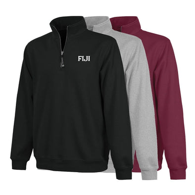 FIJI Charles River Quarter Zip