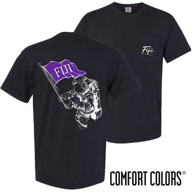 New! FIJI Comfort Colors Astronaut Short Sleeve Tee