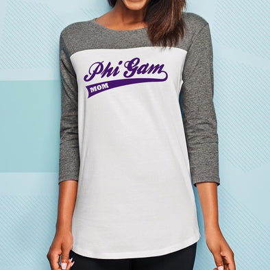FIJI Mom 3/4 Sleeve Tee