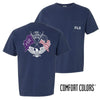 FIJI Comfort Colors Short Sleeve Navy Patriot tee