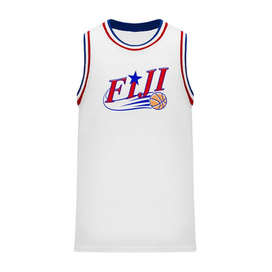 New! FIJI Retro Swish Basketball Jersey