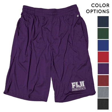 FIJI Intramural Athletics Pocketed Performance Shorts