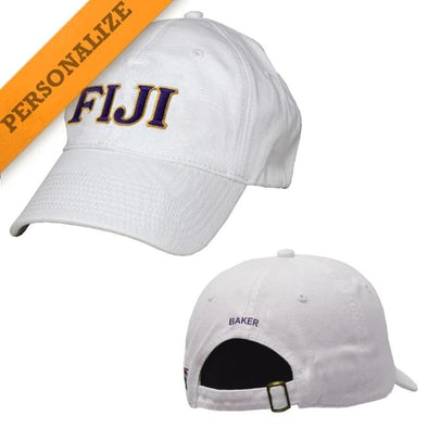 FIJI Personalized White Hat