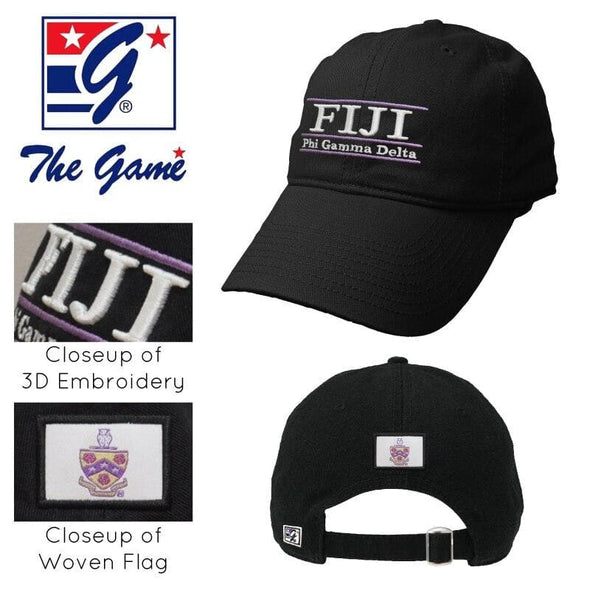 FIJI Black Ultimate Hat by The Game®