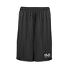 FIJI Black Pocketed Performance Shorts