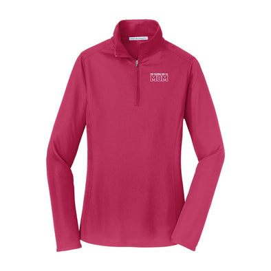 FIJI Mom Pink Performance 1/4 Zip