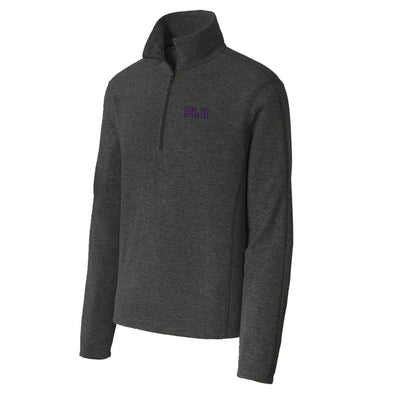 FIJI Charcoal 1/4-Zip Microfleece Jacket