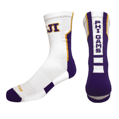 FIJI White Performance Socks
