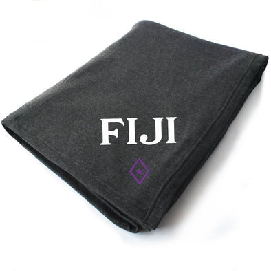 New! FIJI Symbol Blanket