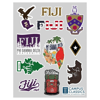 New! FIJI Sticker Sheet
