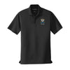 Personalized ZBT Crest Black Performance Polo