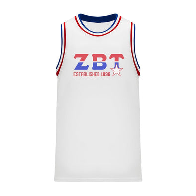 ZBT Retro Block Basketball Jersey