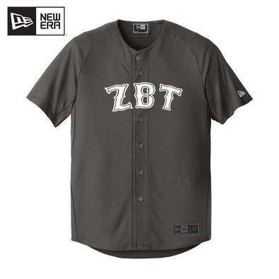 ZBT New Era Graphite Baseball Jersey