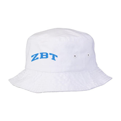 New! ZBT Title White Bucket Hat